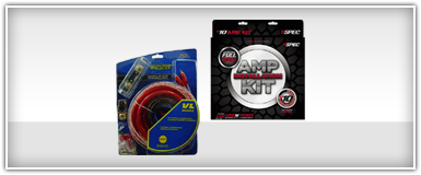 Car Audio 0 Gauge Amp Kits