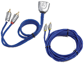 Clearance Kicker RCA Cables here at HifiSoundConnection.com