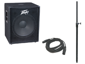 DJ Packages 18 Inch Speakers and Adjustable Stands here at HifiSoundConnection.com