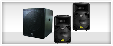 15 Inch DJ Systems Subs & Speakers