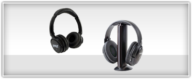 Home Theater Headphones & Microphones