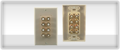 Home Theater Phone & Coax Wall Plates