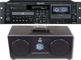 Home Theater Cassette Players
