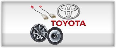 Kicker Toyota Specific Speakers