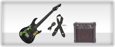 Electric Guitar Starter Packages