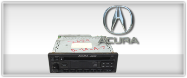 Acura Factory Stereo