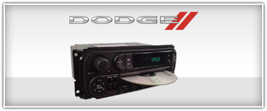 Dodge Factory Radio