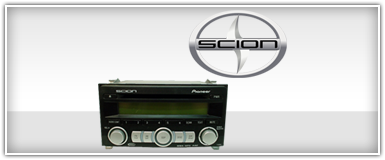 Scion Factory Radio