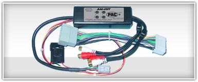 PAC Chrysler, Dodge & Jeep Auxiliary Input Integration