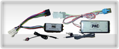 PAC GM, Chevy, & Cadillac Auxiliary Input Integration