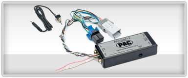PAC Mazda Auxiliary Input Integration