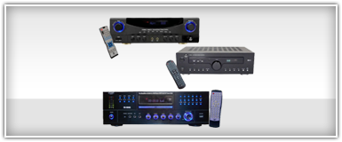 Pro Audio CD DVD & MP3 Receivers