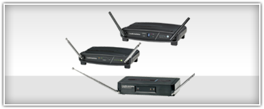 Pro Audio Wireless Receivers
