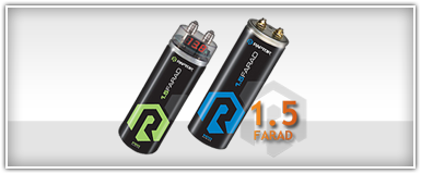 Raptor 1.5 Farad Capacitors