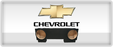 Chevy Truck Subwoofer Enclosures